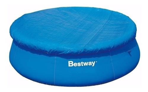 cobertor cubre pileta bestway 366cm + inflador aro redonda