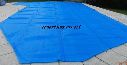 cobertor cubre piletas y manta termica tricapa - de fabrica