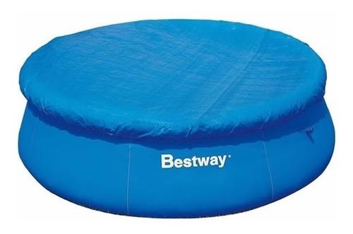 cobertor cubrepileta bestway 366 fast set - inflable