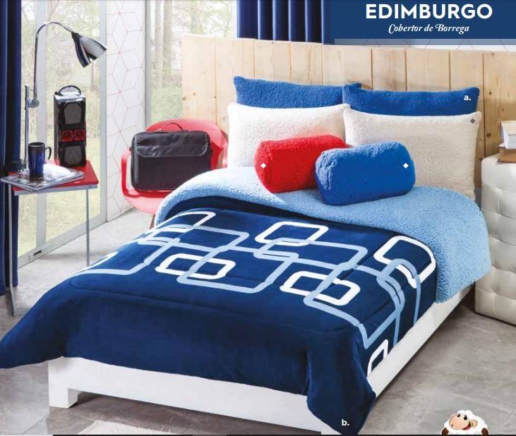 Cobertor De Borrega King Said Edimburgo Cbom0323 Concord D ... e6eb2facfc080