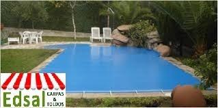 cobertor de piscina en lona at termosellado edsal