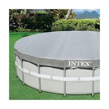 cobertor de piscina intex de 4.88m original único en mercado