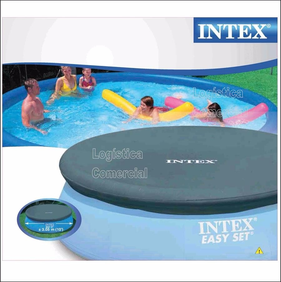 Cobertor de piscinas inflables 305 cm diametro intex for Piscinas montables