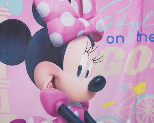 cobertor disney minnie mouse rosa pr-5603502