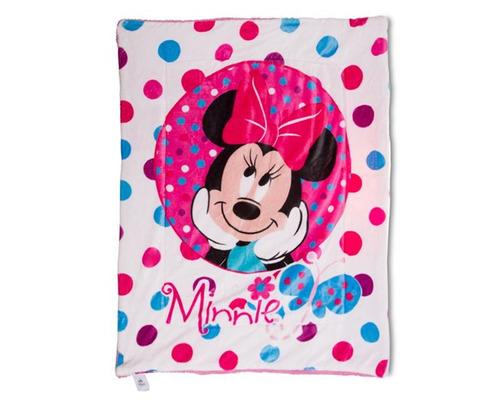 cobertor disney minnie mouse rosa pr-5838162