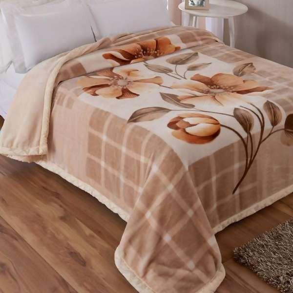 Cobertor double action king jolitex dupla face r for Cobertor cama