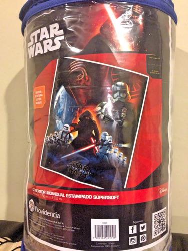 cobertor individual star wars providencia super soft