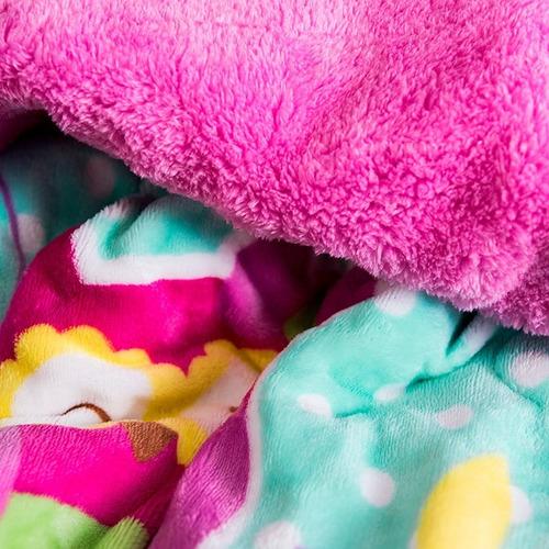 cobertor invernal buhos matrimonial vianney envio gratis