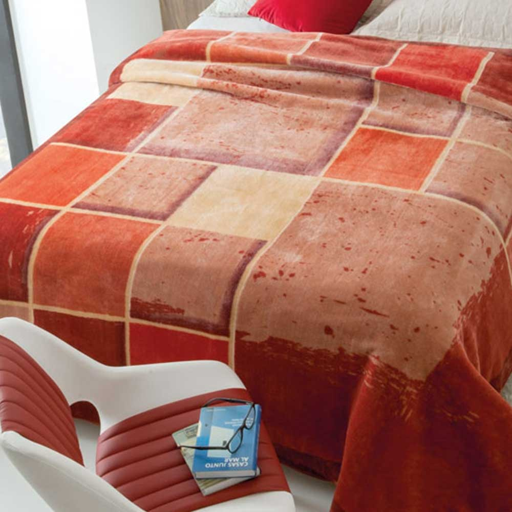 2ff66ccb2b Cobertor Jolitex Raschel Casal 1