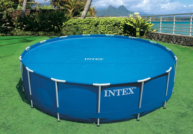 Cobertor lona solar para piscinas intex 29021 di metro for Cobertor solar piscina