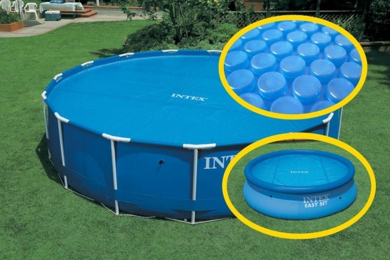 Cobertor lona solar para piscinas intex 29021 di metro for Catalogo de piscinas desmontables