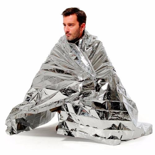 cobertor manta isolante térmico para emergência  echolife
