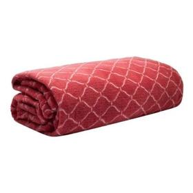 Cobertor Manta Microfibra  1,80 X 2,20 Estampado Camesa