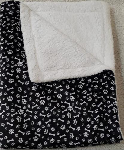 cobertor manta pet cachorro gato dupla face sherpa