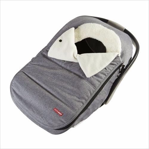 cobertor para baby silla gris - skip hop