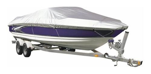 cobertor para bote lancha talla c de 16 hasta 18,5 pies poly