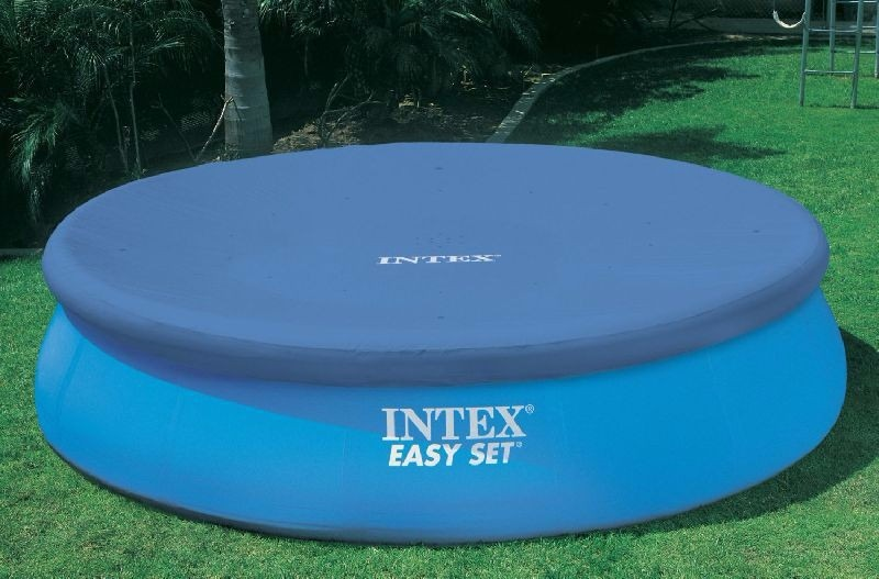 Cobertor para piscinas inflables 457 cm intex bestway for Cubre piscinas bestway