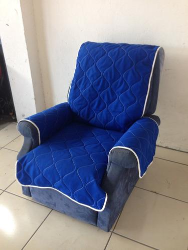 cobertor para sillon reclinable.