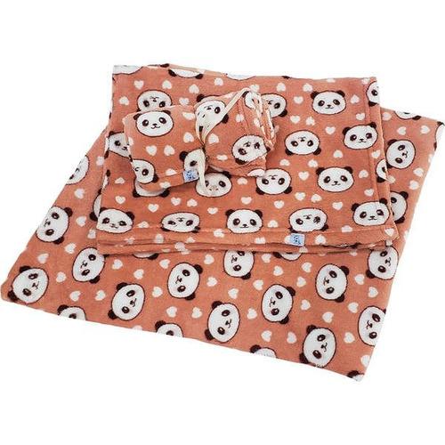 cobertor pickorruchos panda - tam. p