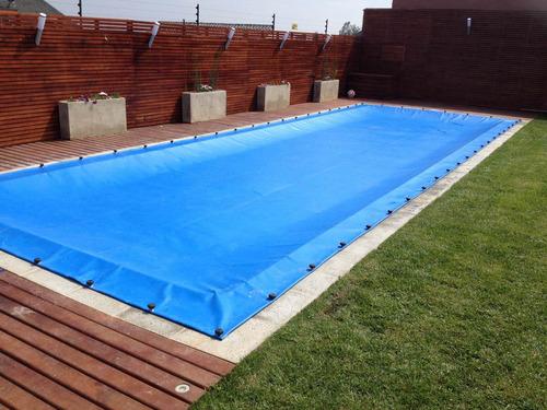 cobertor seguridad para piscinas evita caídas niños tela pvc