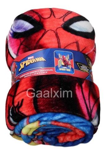 cobertor spiderman audaz individual providencia serenity