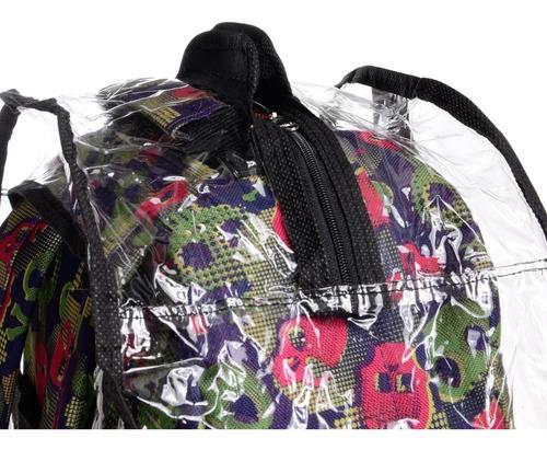 cobertor/mochila impermeable medium - lote x mayor de 10 u
