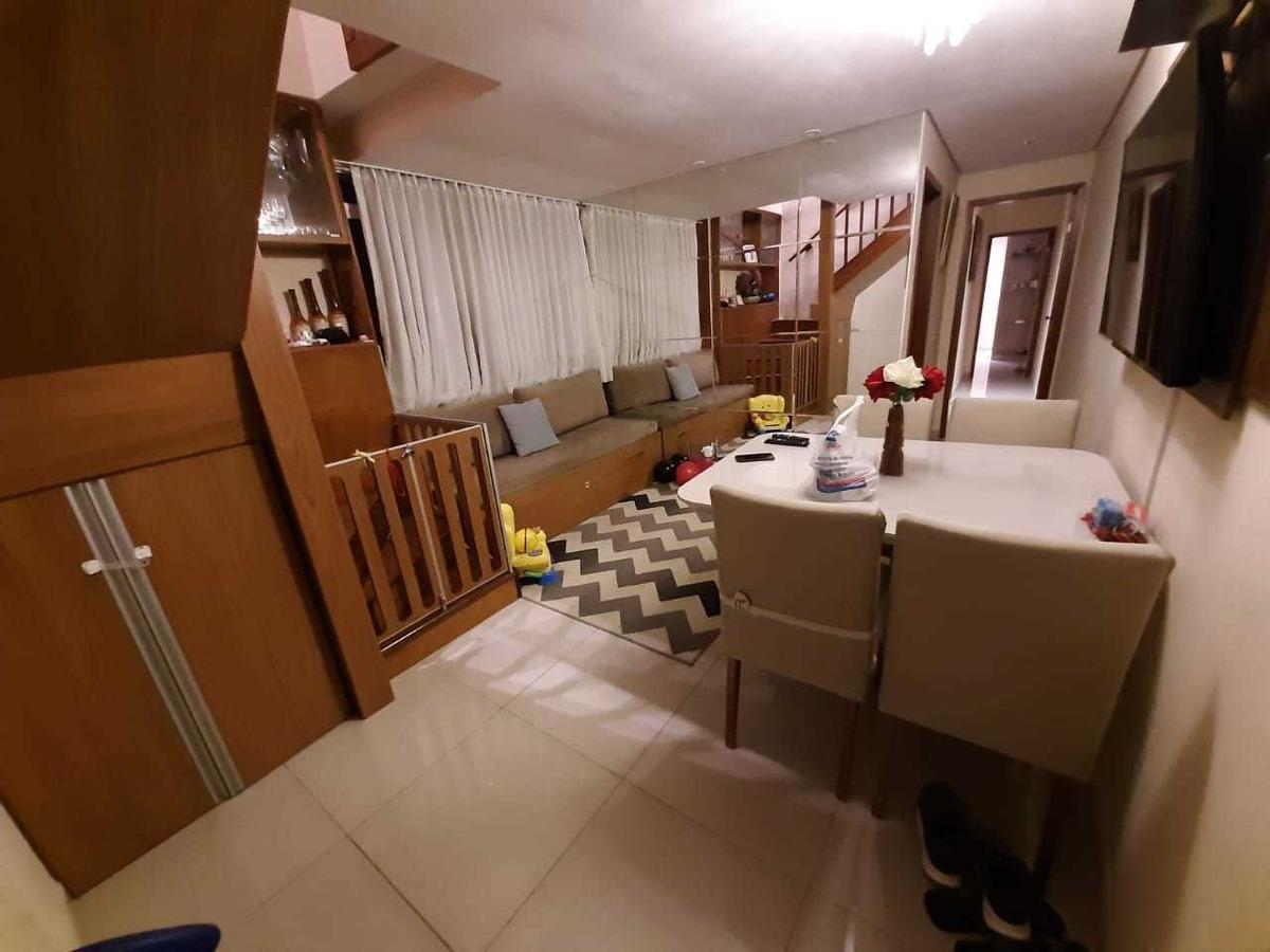 cobertura 02 quartos, sendo 01 suíte no bairro castelo. - 3442