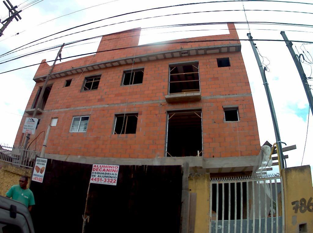 cobertura 146m² sem condomínio, 4 dormitórios, 2 suítes, piscina e churrasqueira, parque das nações, santo andré - co0342