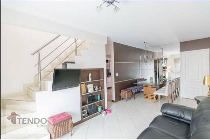 cobertura 168 m² - 3 dormitórios - 1 suíte - jardim do mar - são bernardo do campo/sp - co0002