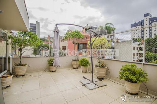 cobertura, 2 dormitórios, 155.36 m², moinhos de vento - 168045