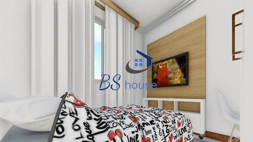 cobertura 2 dorms. s/ condomínio - vila pires - 4494