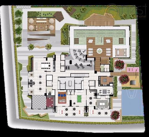 cobertura 2 quartos, igloo, água verde, curitiba. - co0043