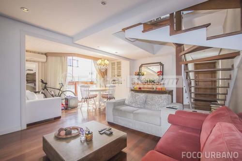 cobertura, 3 dormitórios, 226 m², são joão - 138110