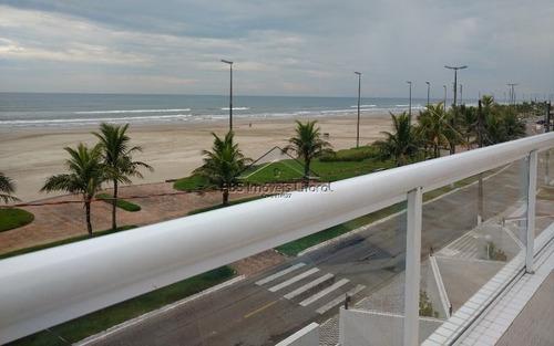 cobertura 3 dormitórios na vila caiçara em praia grande - sp