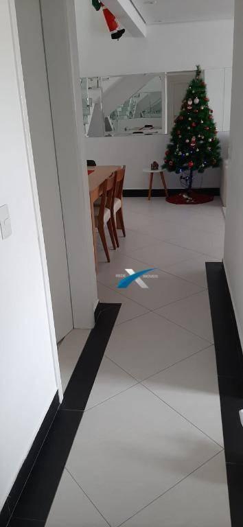cobertura 3 dormitórios à venda, 144 m² por r$ 690.000 - vila oliveira - mogi das cruzes/sp - co0770