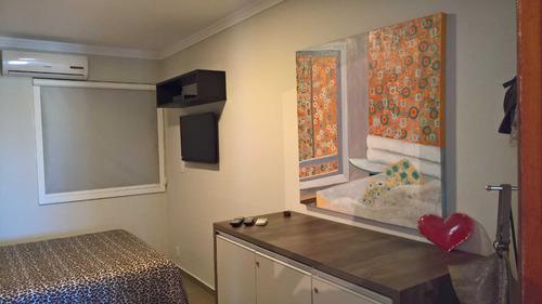 cobertura 3 quartos decorada vista panorâmica praia ingleses