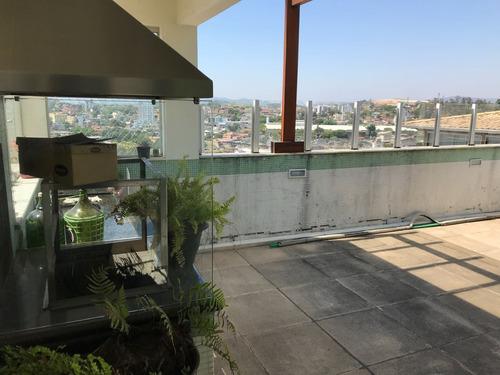 cobertura 3 quartos e 3 vagas, no bairro guarujá, em betim!! estuda permuta por imóvel em belo horizonte!! - 193
