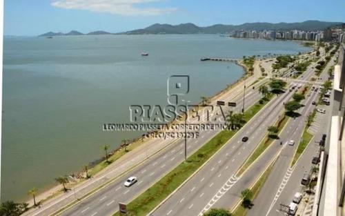 cobertura 3 suítes 6 vagas vista mar na av beira mar florianópolis
