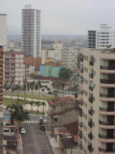 cobertura 3dorms/2suites+lazer a 50m da praia caiçara - r$70mil - v412590