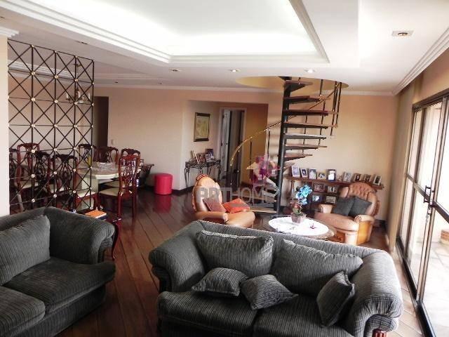 cobertura 4 dorm, 2 suites, 2 vagas, rudge ramos, sbc - ad0011