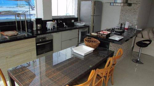 cobertura 4 dormitórios, módulo 4 - riviera de são lourenço - co0142
