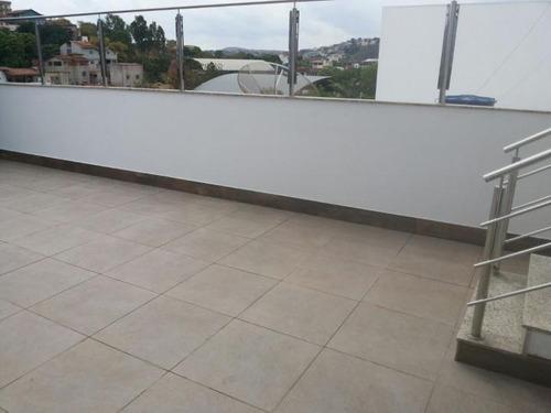 cobertura a venda em governador valadares, vila bretas, 4 dormitórios, 2 suítes, 1 banheiro, 2 vagas - 487