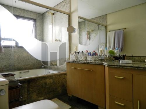 cobertura - brooklin paulista - ref: 54031 - v-wi38302