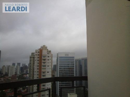 cobertura brooklin  - são paulo - ref: 487240