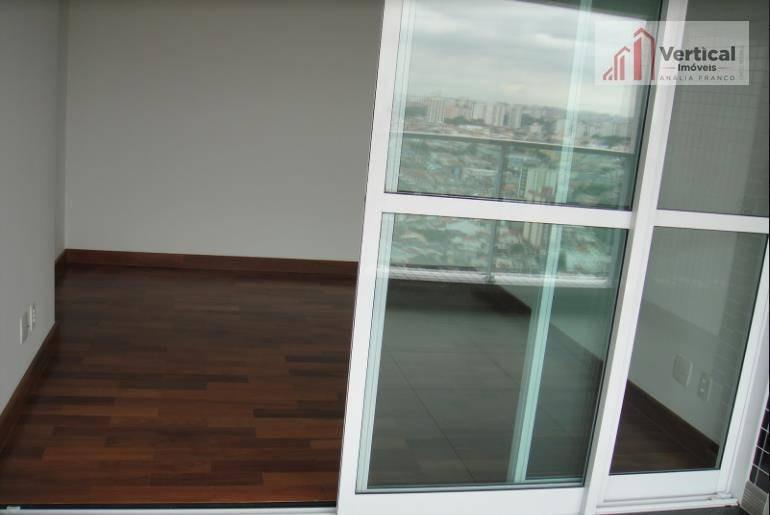 cobertura com 1 dormitório à venda, 95 m² por r$ 1.500.000,00 - anália franco - são paulo/sp - co0375