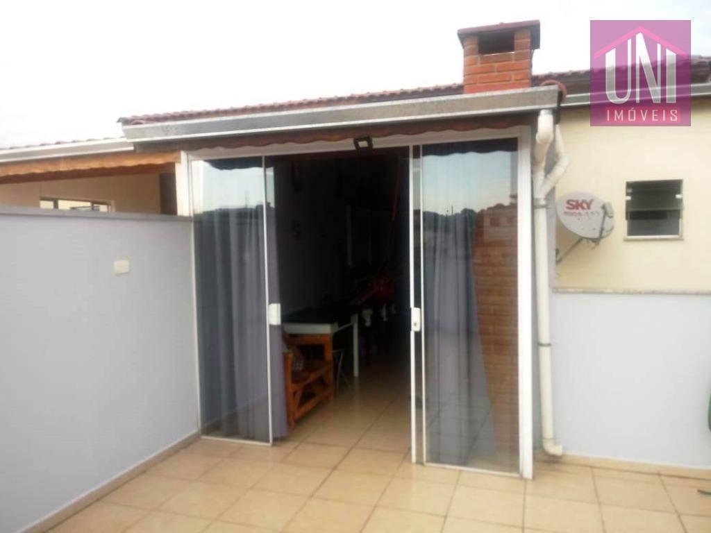 cobertura com 2 dormitórios à venda, 100 m² por r$ 295.000 - parque novo oratório - santo andré/sp - co0714