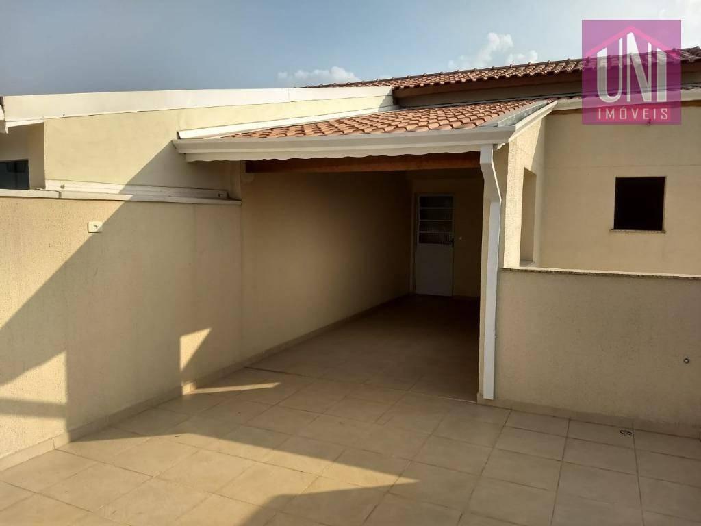 cobertura com 2 dormitórios à venda, 100 m² por r$ 310.000,00 - parque novo oratório - santo andré/sp - co0670