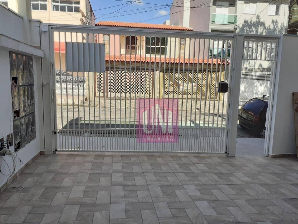 cobertura com 2 dormitórios à venda, 103 m² por r$ 328.000 - parque novo oratório - santo andré/sp - co0770