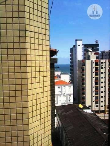 cobertura com 2 dormitórios à venda, 110 m² por r$ 460.000,00 - campo da aviação - praia grande/sp - co0142