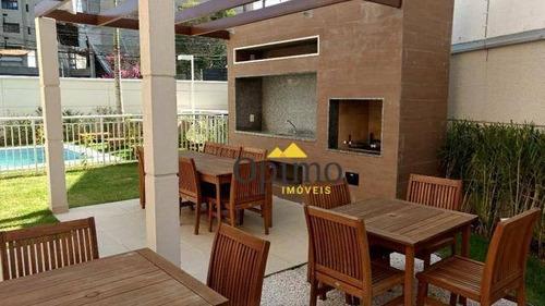cobertura com 2 dormitórios à venda, 112 m² por r$ 950.000 - santo amaro - são paulo/sp - co0042